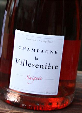 Champagne La Villesenière - Cuvée Rose de Saignée