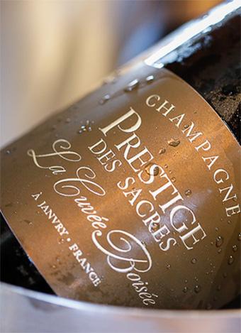 Champagne Prestige des Sacres - Cuvée Boisée