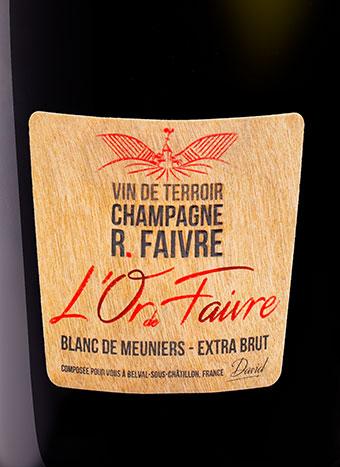 Champagne R. Faivre - L'Or de Faivre
