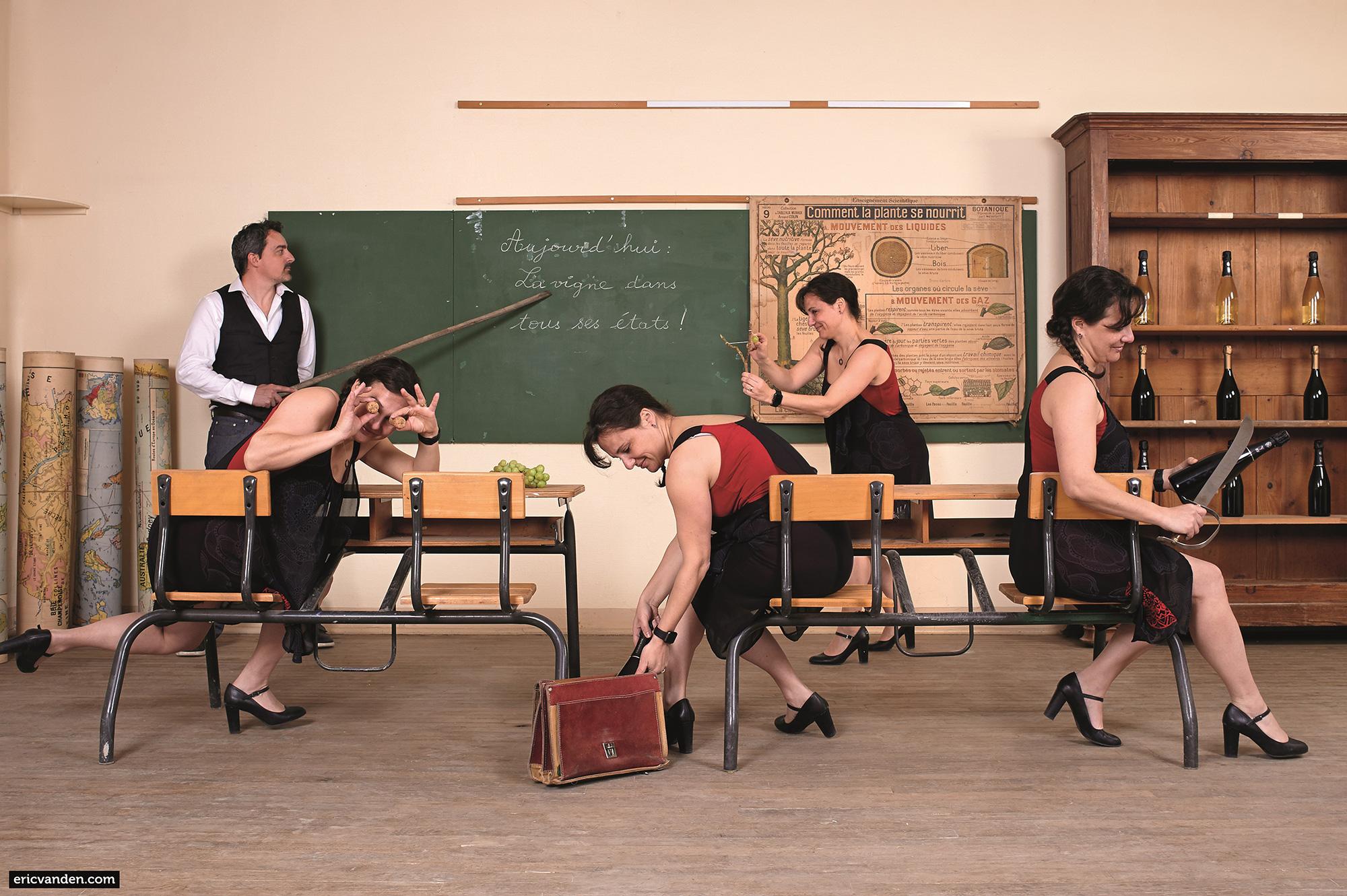 Champagne Piot-Sevillani : «L'école buissonière»