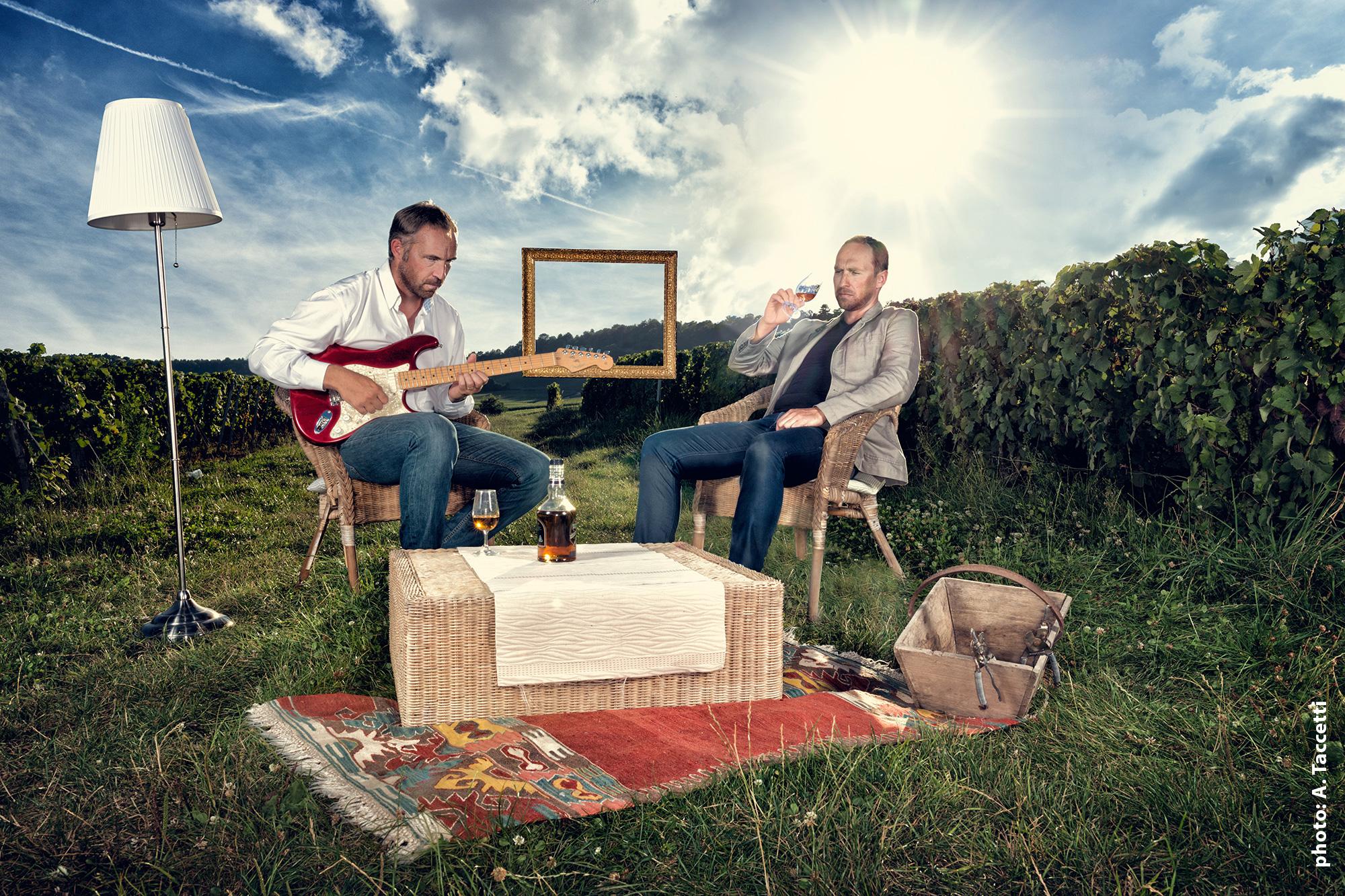 Champagne Minière : «Les Minière Brothers»