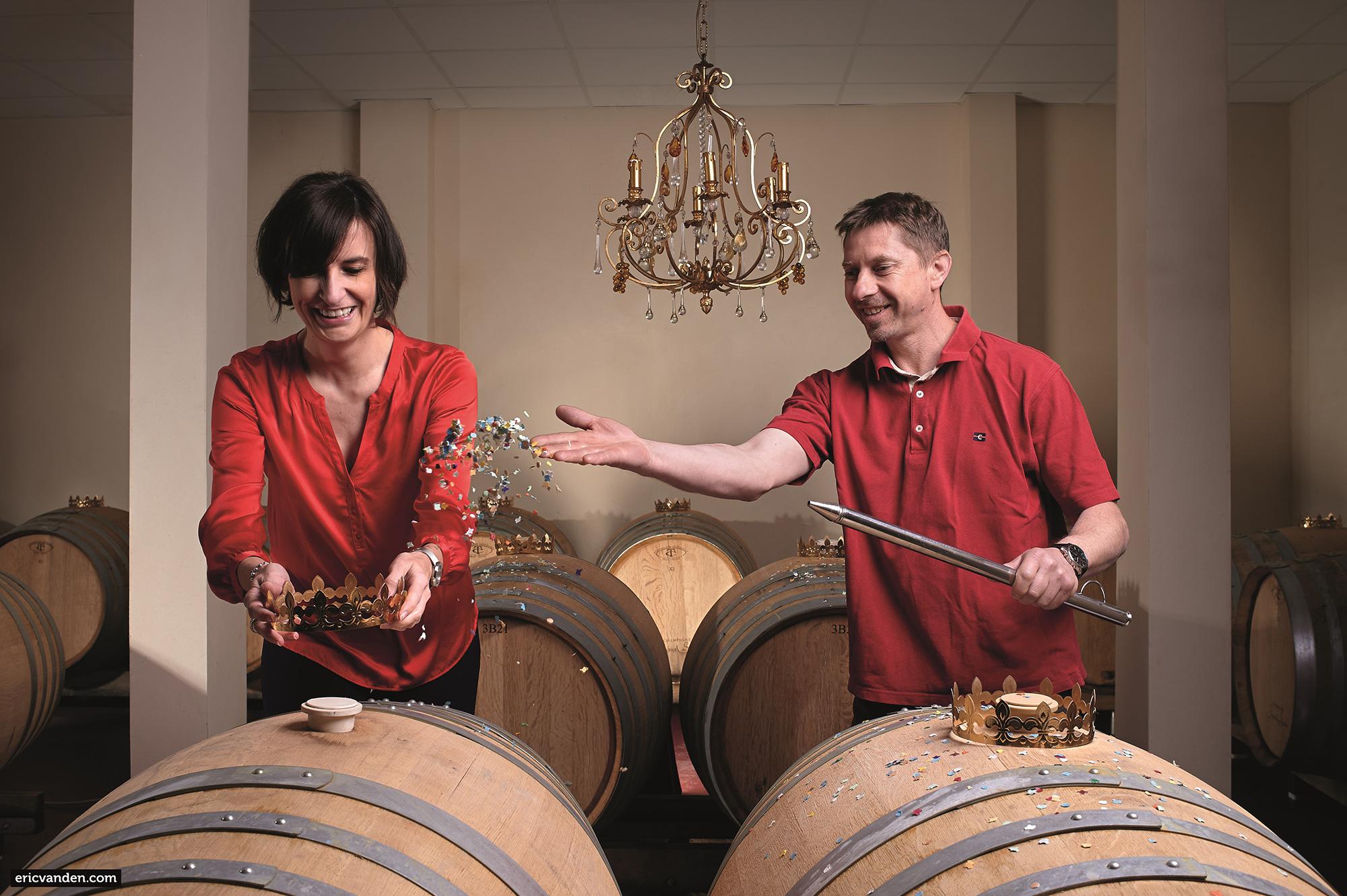 Champagne Prestige des Sacres : «Le joyeux sacre»