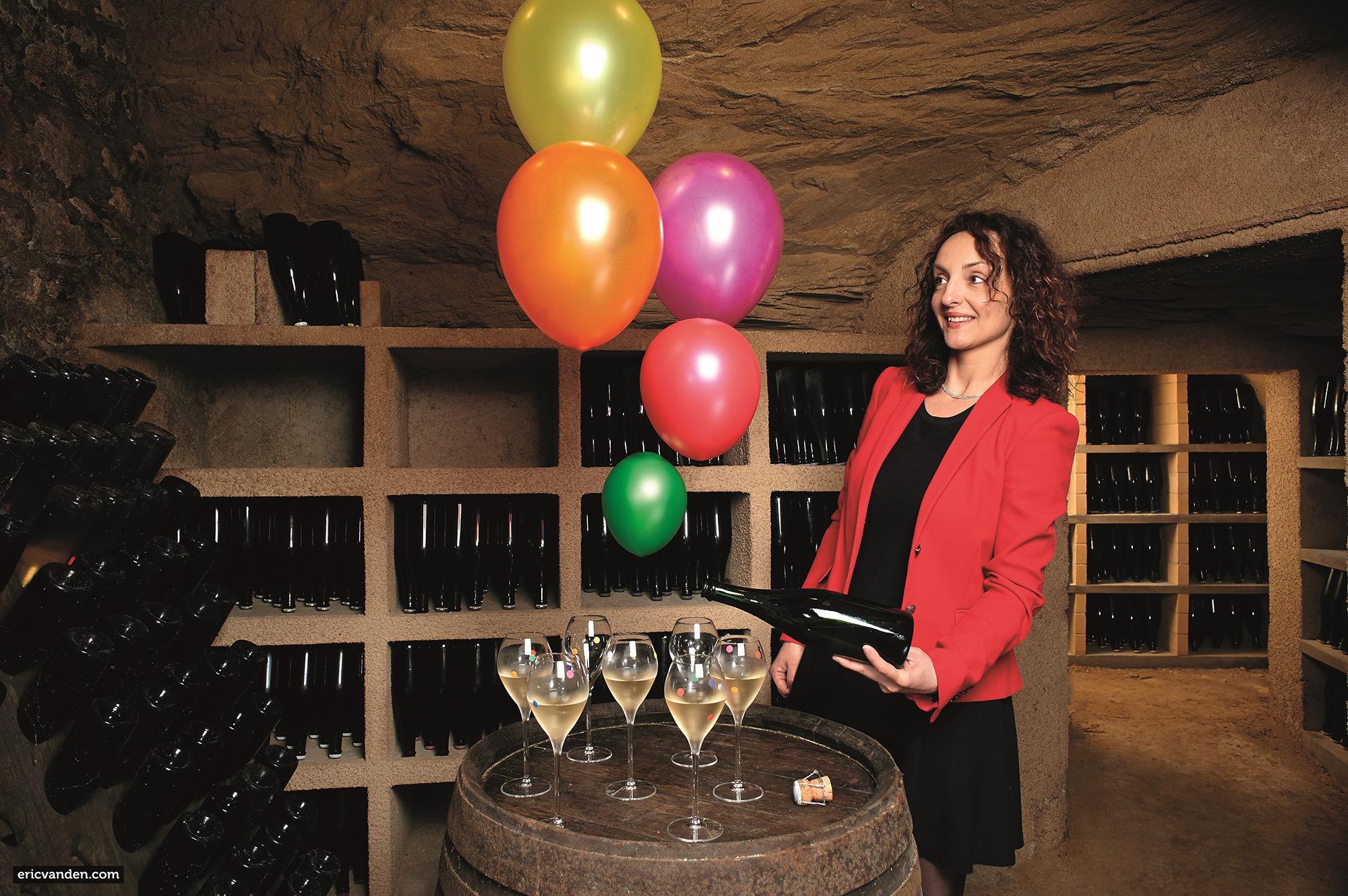 Champagne Cossy : «Joyeuse effervescence»